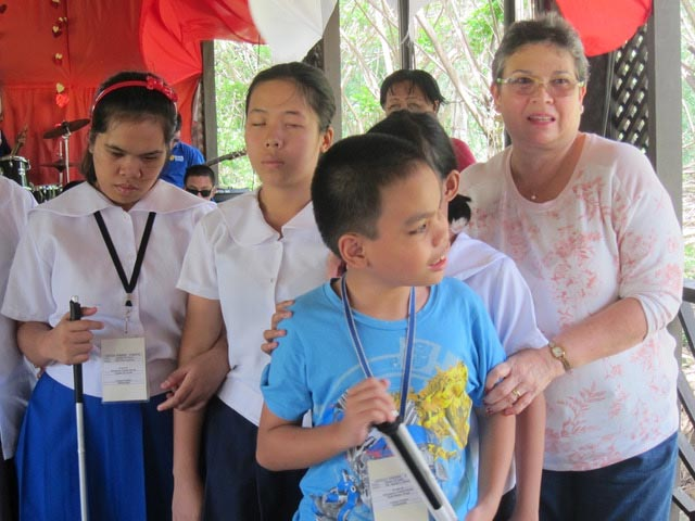 Dr. Meg Antonio (far right) is the leading advocate of the school.