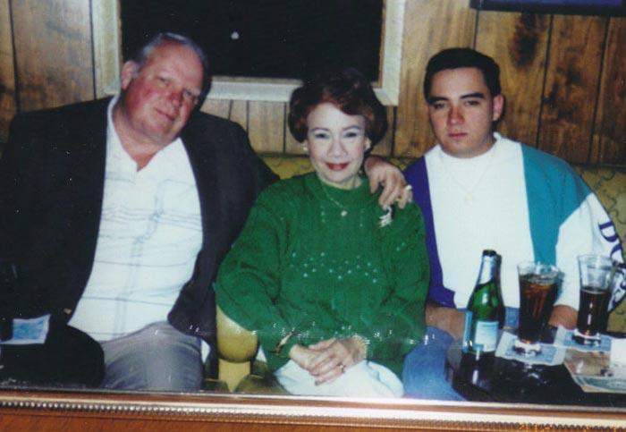 Carol Varga with her husband, Carr Richard Harley, and son, Carl Benjamin Harley.(Photo is courtesy of Carol Varga)
