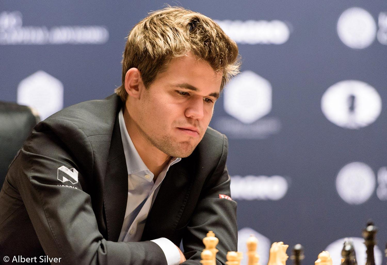 World Chess Champion Magnus Carlsen of Norway (Photo by Albert Silver)