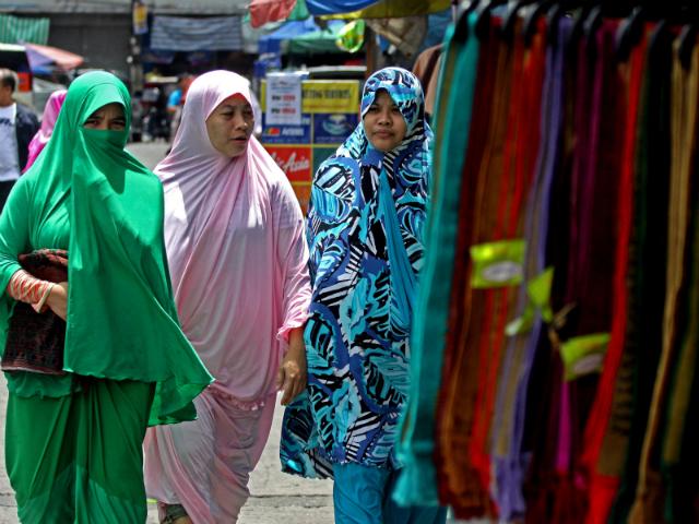 Muslim women in Quiapo (Source: GMANetwork.com)