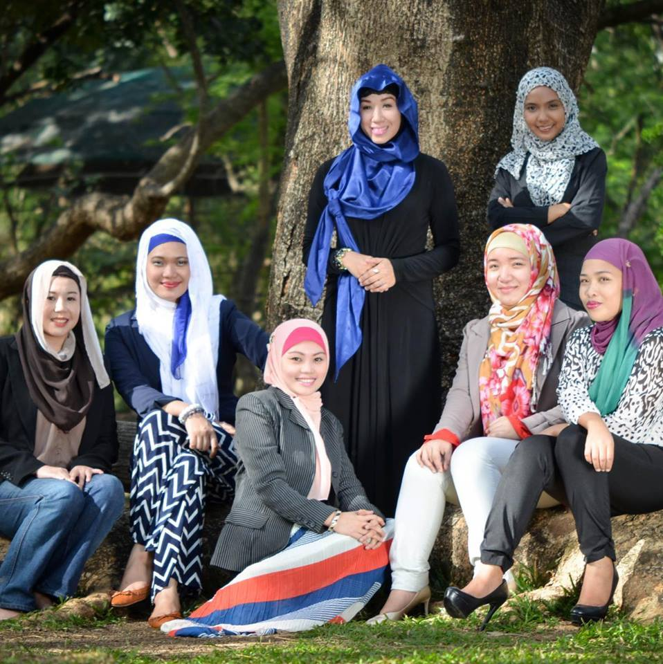 Members of the Young Moro Professional Network (Marawi, 2017)