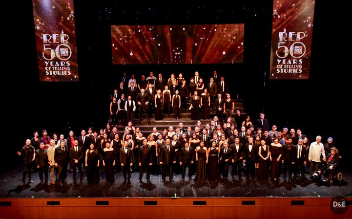 REP: 50 Years of Telling Stories  anniversary gala was a one magical night that saw the company's brightest stars come home to REP to take the stage.