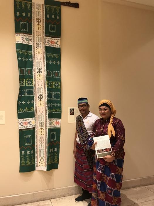 Salika Maguindanao and husband Jardin (Photo by Michael Gonzalez)