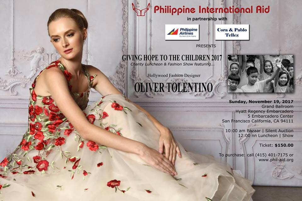 Designer Oliver Tolentino Brings Back Romance Positively Filipino Online Magazine For Filipinos In The Diaspora