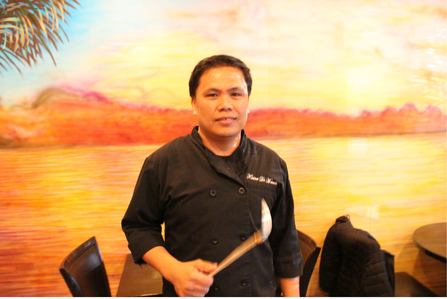Chef Niel Salvatera can cook a multitude of dishes. (Photo by Ivan Kevin R. Castro)