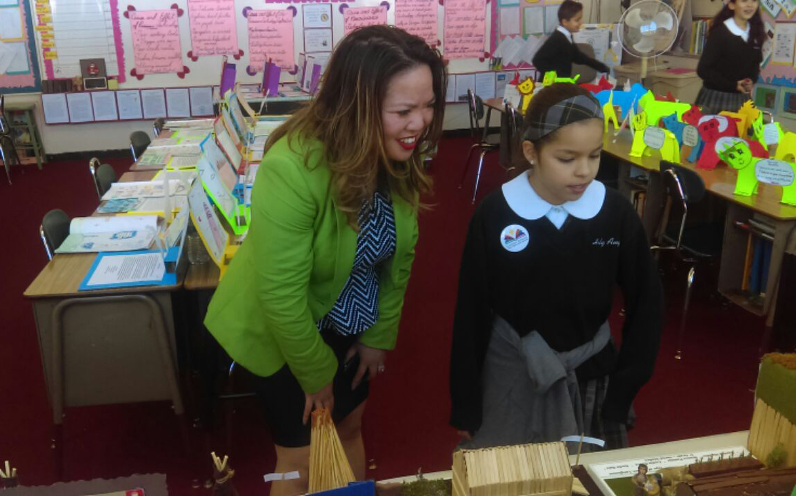 Daly City's first woman mayor inspires the next generation. (Photo courtesy of Juslyn Manalo)