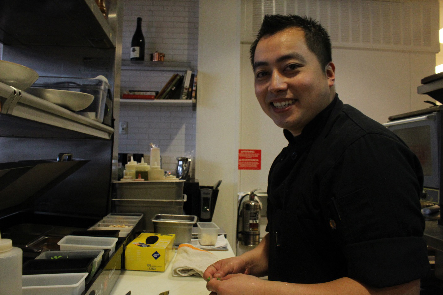 Chef Angelo Lubiano cooks as if he is cooking for his loved ones. (Photo by Ivan Kevin Castro)