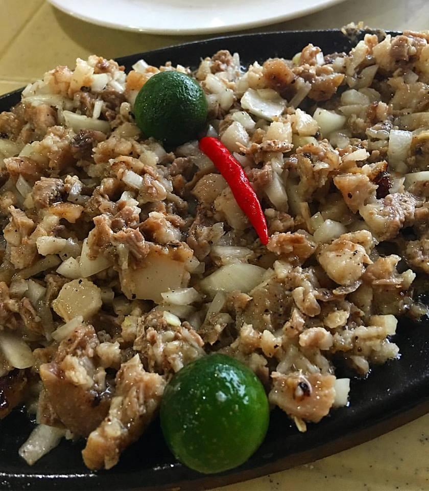 Sisig Babi (Photo courtesy of Chef Jam Melchor)