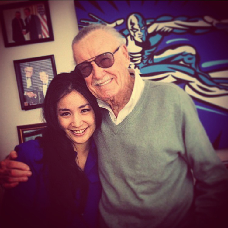 In 2014, I had the opportunity to work with Stan Lee pitching IPs. Discussing character design and storytelling with the co-creator of so many iconic stories was an amazing experience.