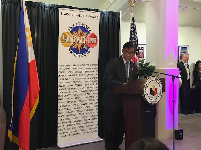 Philippine Consul General Henry Bensurto, Jr.