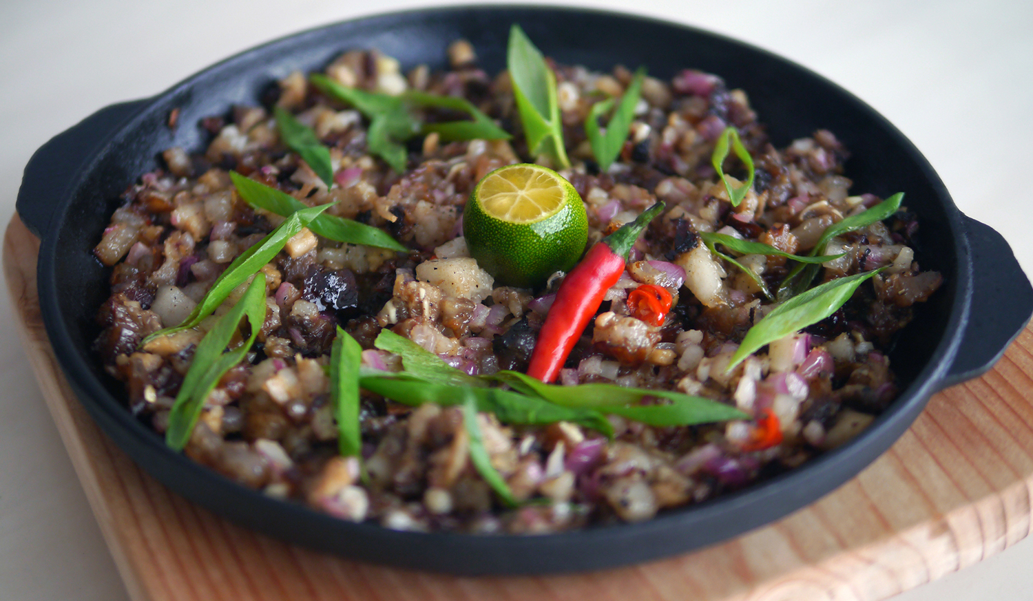 Sizzling Sisig (Photo courtesy of Claude Tayag)