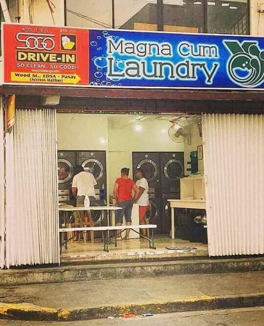 Magna Cum Laundry (Source: facebook.com/Augie Rivera)