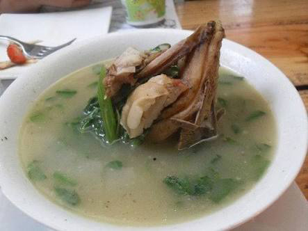 Pinikpikan as served at Cafe by the Ruins in Baguio City (Source: Trip Advisor)