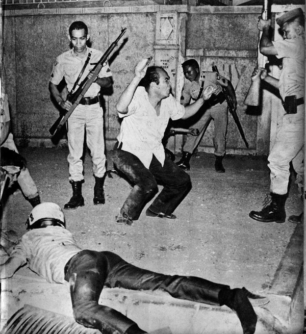 Martial law declared (Source: Official Gazette)