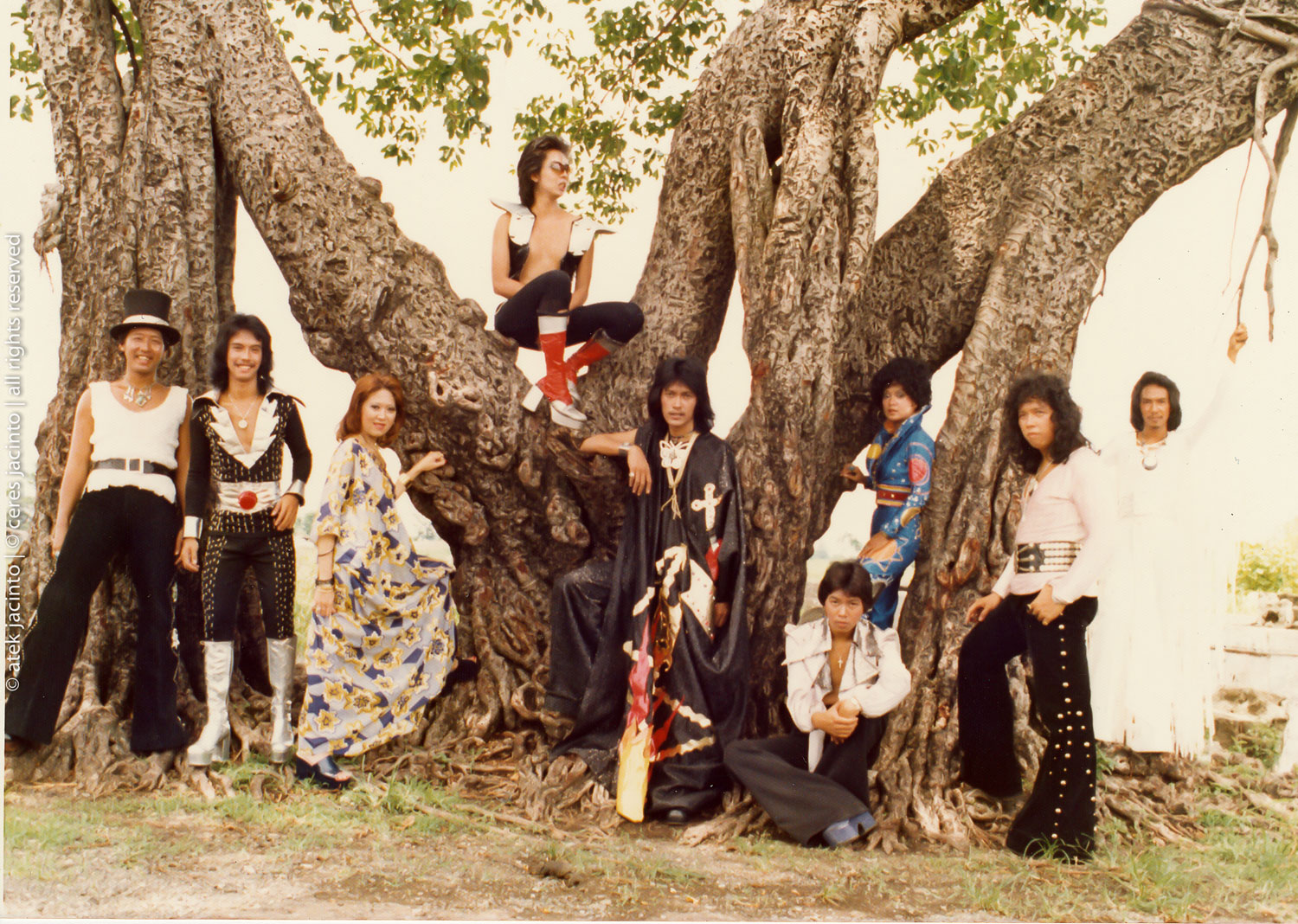 The Circus Band (1974) (Photo courtesy of Ceres Jacinto)