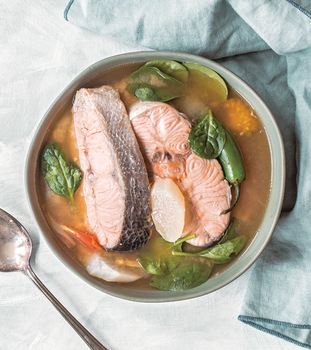 Sinigang Na Isda Sa Miso Fish In Tamarind Miso Soup Positively Filipino Online Magazine For Filipinos In The Diaspora