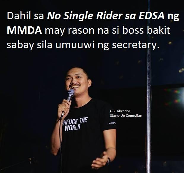 No Single Rider (Source: GB Labrador/facebook)
