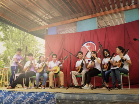The Dalaguete Music Foundation provides musical opportunities in Dalaguete, Cebu. (Photo courtesy of Ester Hana)