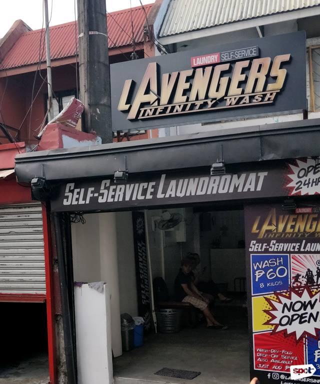 L' Avengers Infinity Wash (Source: spot.ph/facebook)