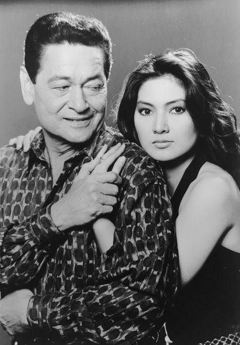 Eddie Garcia and Dang Cecilio