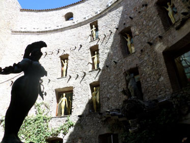 The Courtyard/Atrium of the museum. (Photo courtesy of Myles Garcia)