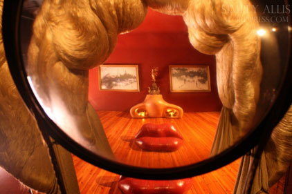 The Mae West room.