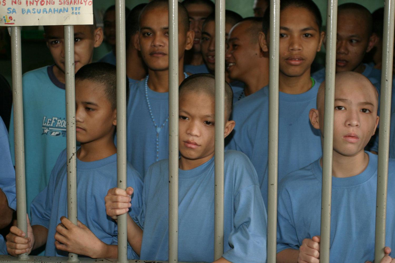 Children in jail (Photo courtesy of PREDA Foundation)