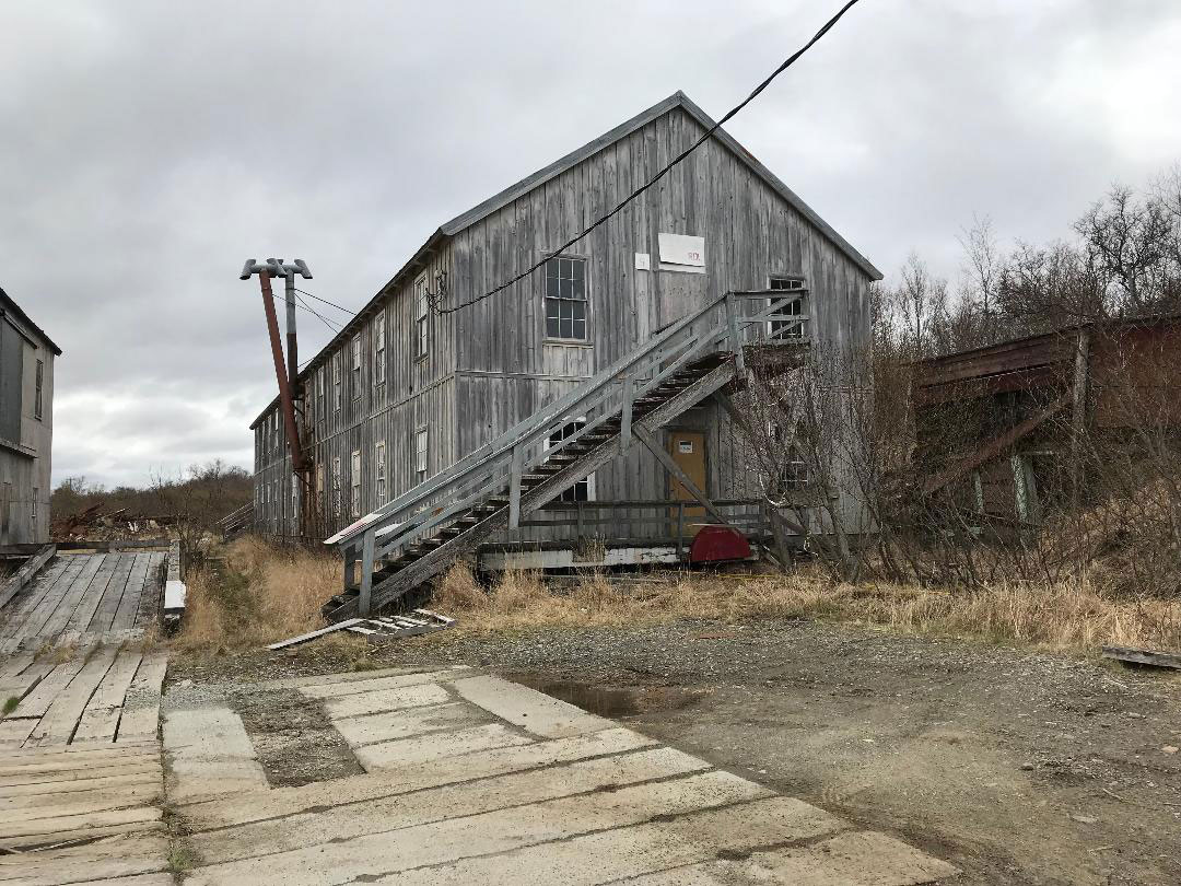 The  Cannery Workers Bunkhouse as it looks now. Photo was taken during a visit to the cannery in spring 2018 by Katherine Ringsmuth.