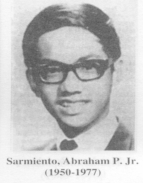 """Abraham """"Ditto"""" Sarmiento, Jr."""
