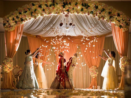 A fantasy Indian Bollywood-Monsoon Wedding