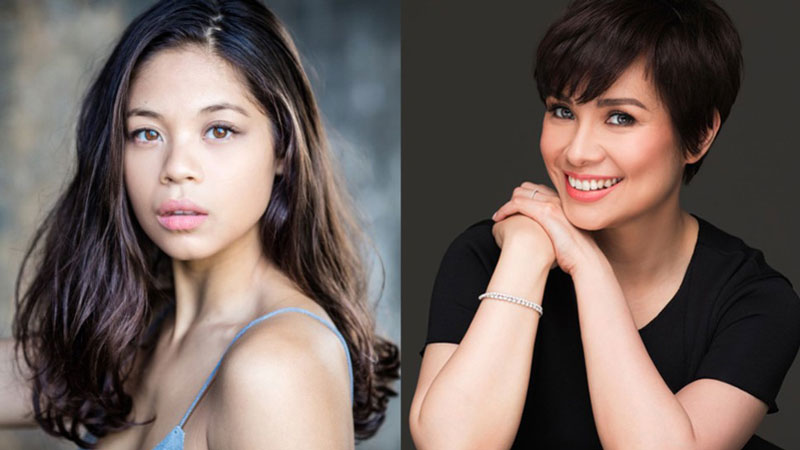 """Yellow Rose"" stars Eva Noblezada and Lea Salonga (Source: Playbill)"