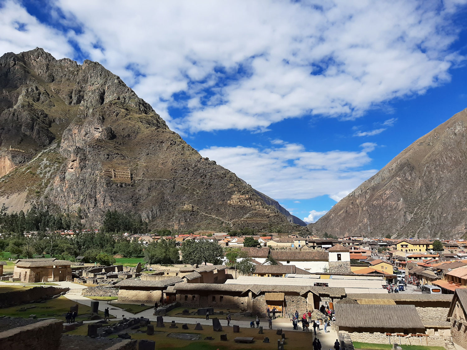 Sacred Valley of the Incas is in the Peruvian Andes (Photo by Bella Bonner)