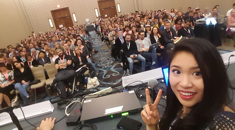 CyreneQ at SXSW (Photo courtesy of CyreneQ)