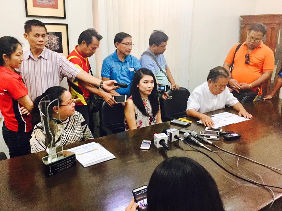 CyreneQ meeting the Philippine press (Photo courtesy of CyreneQ)