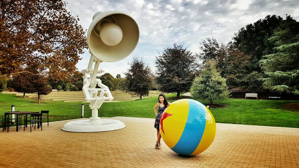 CyreneQ at Pixar Studios (Photo courtesy of CyreneQ)