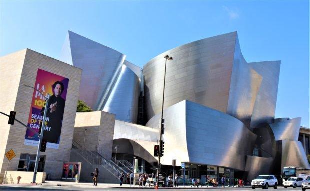 Walt Disney Concert Hall (Photo by Ruben Nepales)