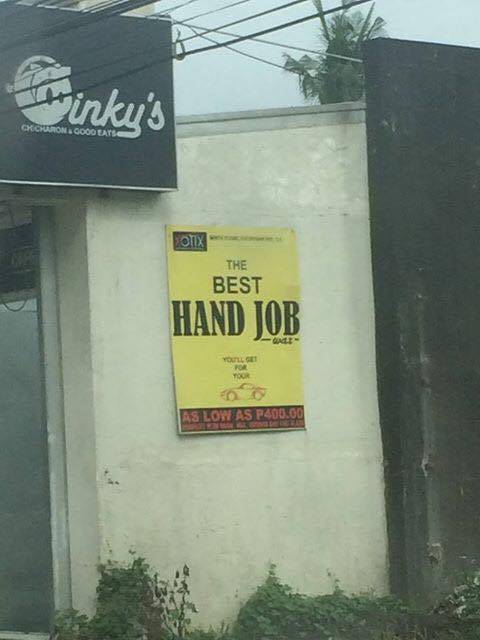 The Best Hand Job (Photo by Carlo Abaya)