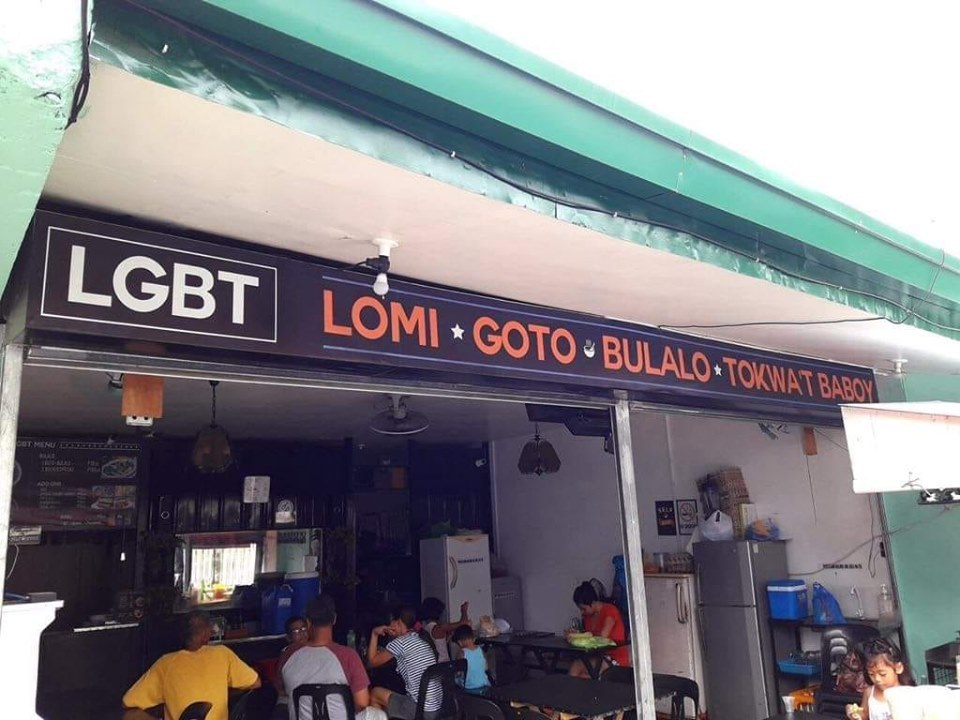 LGBT (Lomi•Goto•Bulalo•Tokwa't Baboy) (Source: facebook)