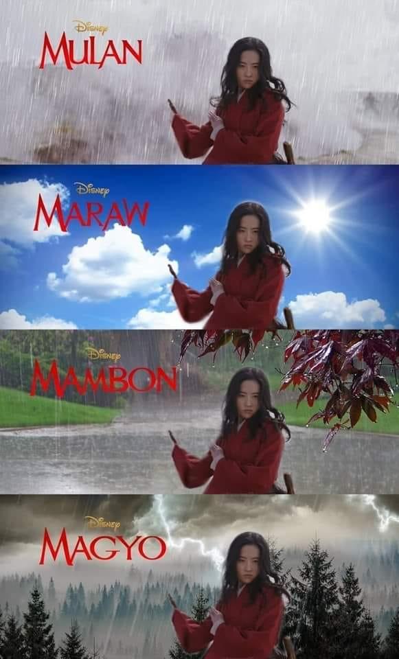 Mulan (Source: Jojo Medina/facebook)