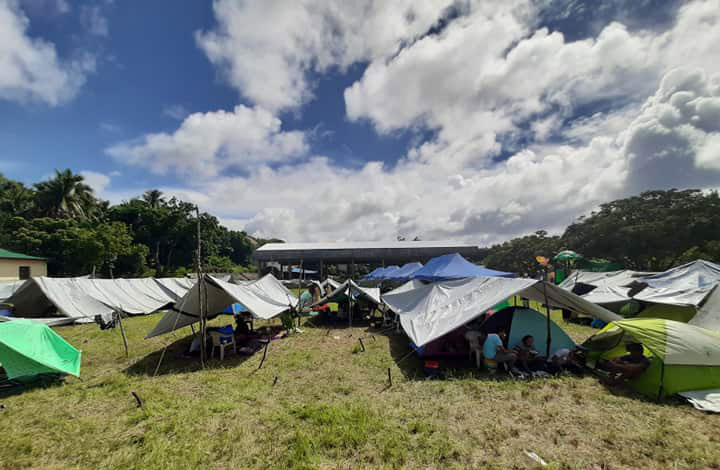 Survivors in Itbayat were left without electricity or running water for days following the deadly earthquake. Nine people died and scores were injured. (Photo by John Kelvin Ibanes)
