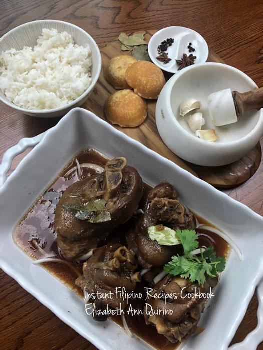 Instant Pot Pork Pata Tim (Photo by Constante G. Quirino)