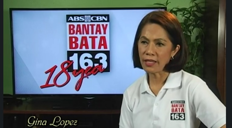 Gina Lopez, when she was ABS-CBN Lingkod Kapamilya Foundation, Inc. chairperson (Source: flowgalindez.com)