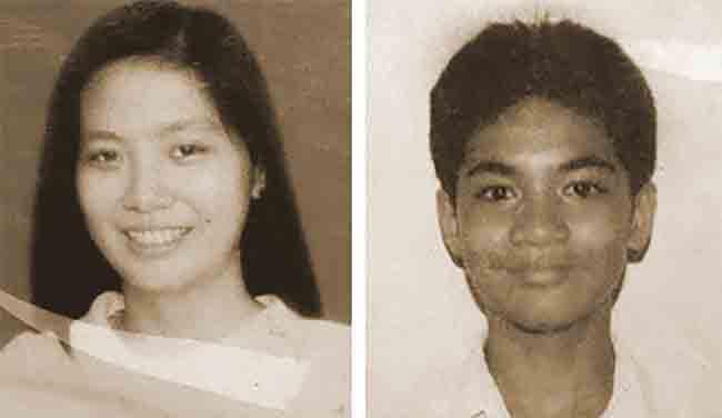 Eileen Sarmenta and Allan Gomez (Source: Manila Times)