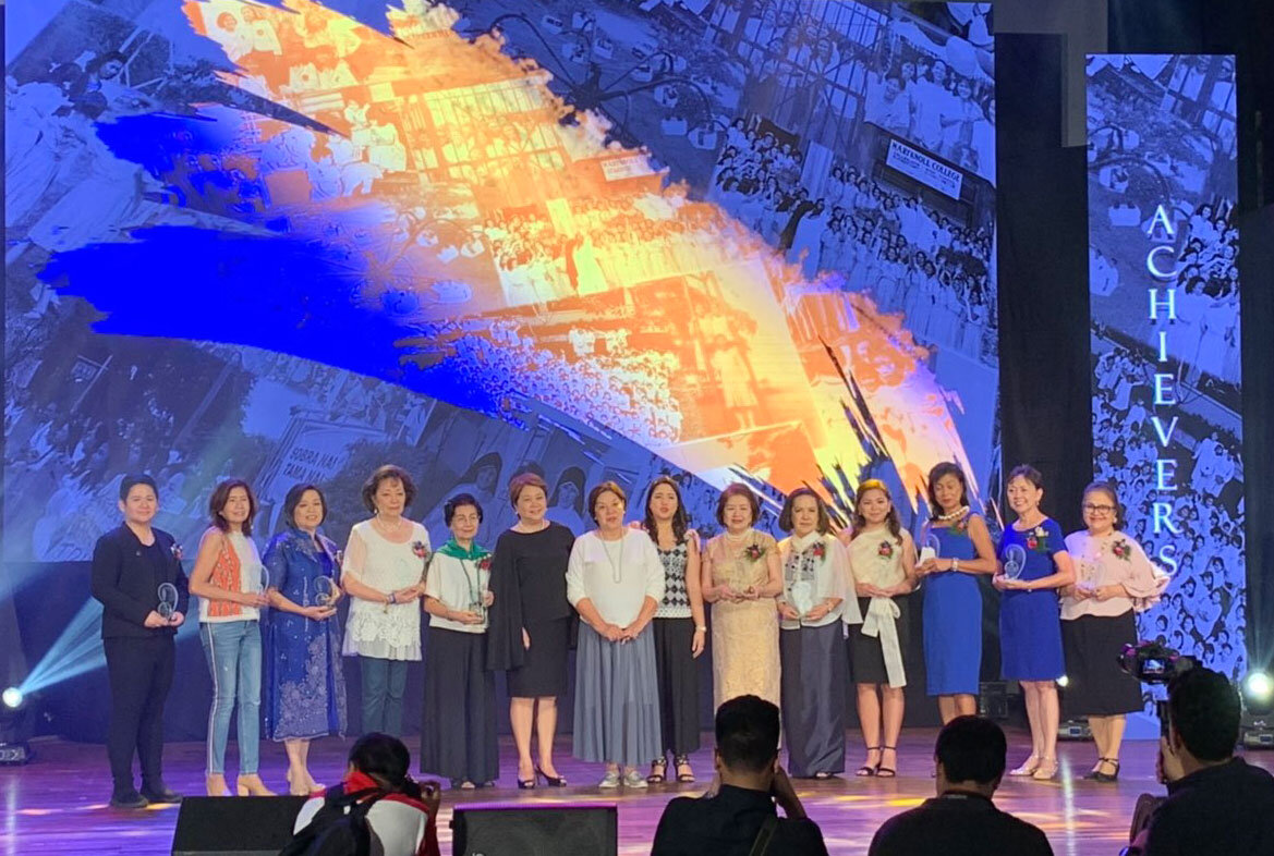 MC74 produced 5 of the 11 Triple A awardees: entrepreneurs Connie Nicolas-Bonoan and Tikki Dula-Laurel, health advocate Rosel Laput, Pangil, Laguna Mayor Ninay Manzana, media pro Roni T. Merk, Baby Nebrida, digital artist Rebbie Ramoso, retired AP exec Maria Fallarme-Ronson, retired Ambassador to German Millie Sta. Maria-Thomeczeck and, from the United States, USAID assistant director Yoya Dino-Steele and author.