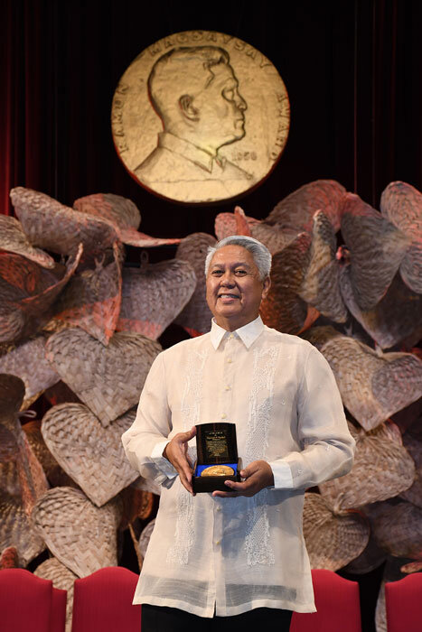 Raymundo Cayabyab, a Ramon Magsaysay Awardee for 2019 (Photo courtesy of the Ramon Magsaysay Award Foundation)