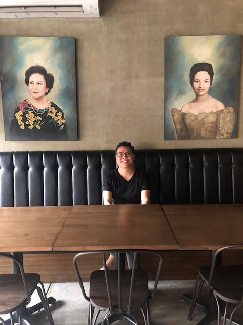 Grandmothers deserve more hugs, says Mijo chef-patron Enrique Moreno.