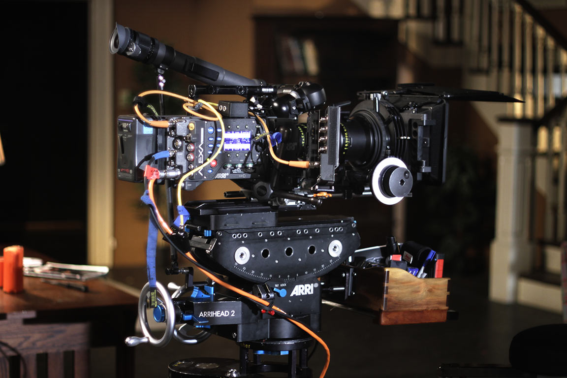 The Arri Alexa, dressed to the nines, and looking beautiful as ever.