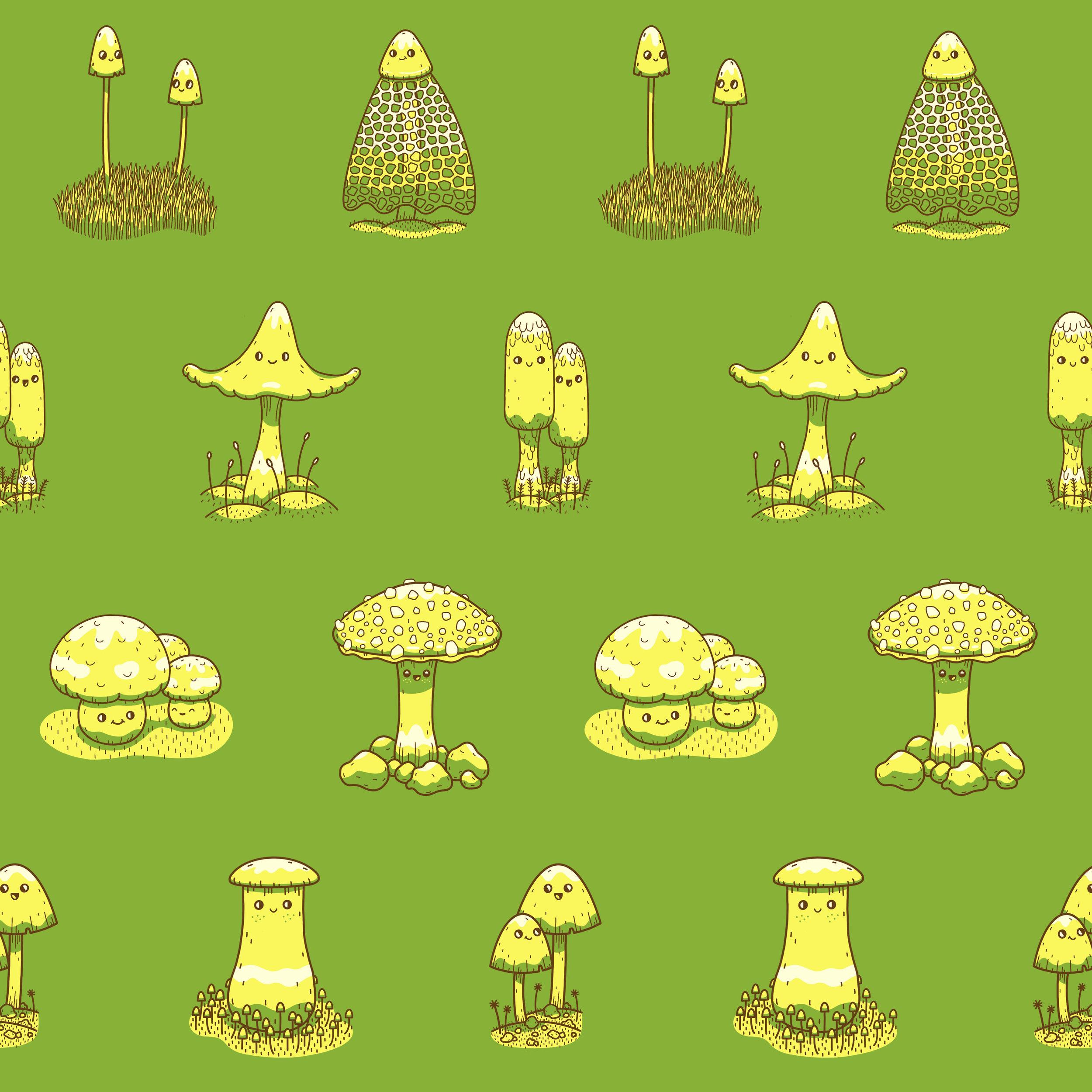 Mushroom Pattern Square.jpg