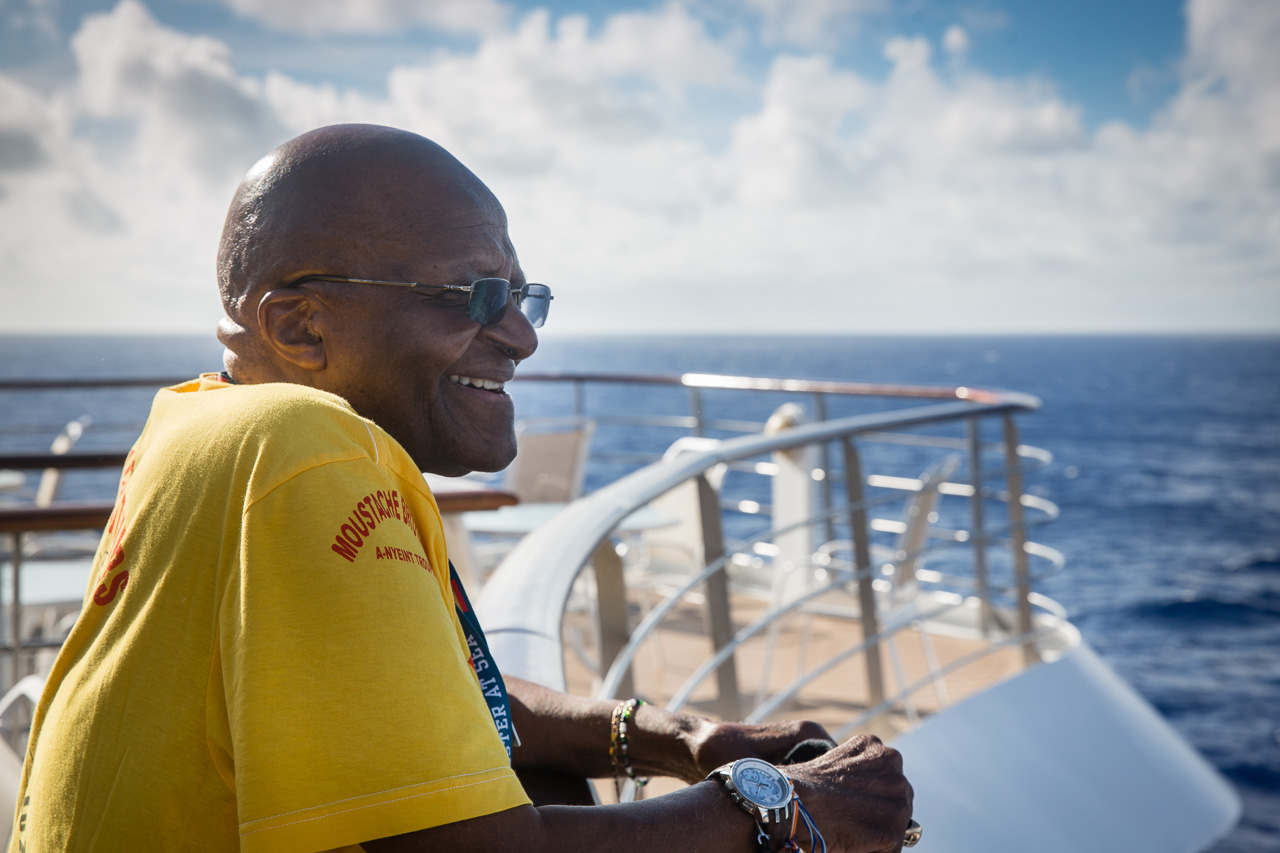 We were honored to share our voyage with the Archbishop Emeritus Desmond Tutu.