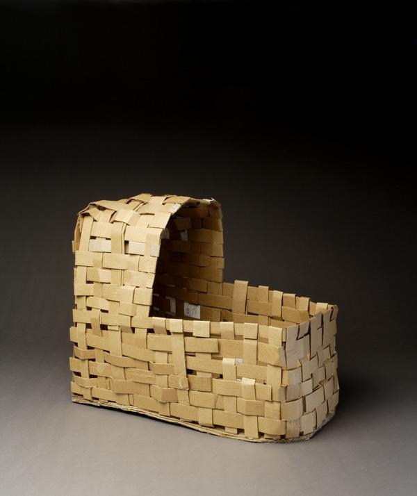 Cardboard Woven Cradle